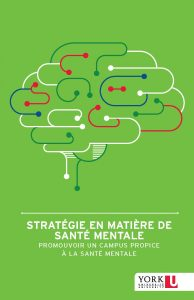 York University Mental Health Strategy report cover in French