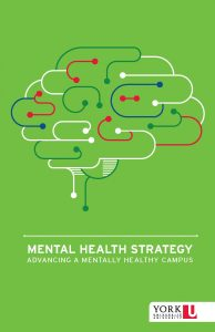 York University Mental Health Strategy report cover in English